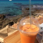 Vers sapje met uitzicht, Ibiza