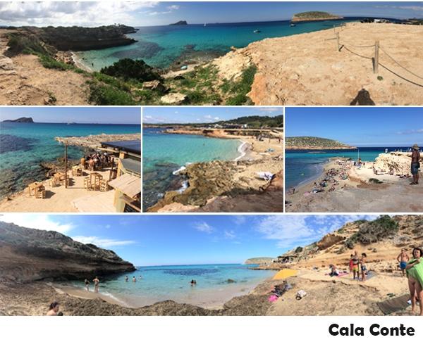 Ibiza, Cala Conte, tips