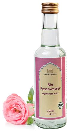 Biologisch rozenwater, heerlijk verkoelend voor Pitta-types