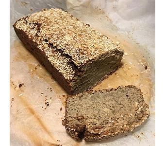 Foto van het mungbrood