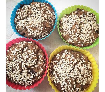 Foto van muffins van mungbonen