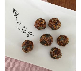 Foto van mungbonen blissballs voor recept
