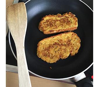 Foto van vegan wentelteefjes recept