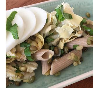 Foto bij recept frisse lunchsalade
